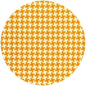 Patty Young, Textured Basics, Houndstooth Tangerine