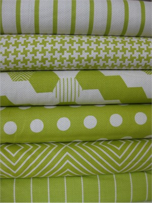 Patty Young, Textured Basics, Lime in FAT QUARTERS 6 Total