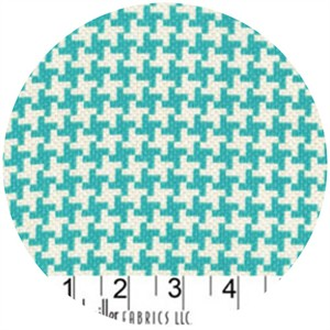 Patty Young, Textured Basics, Vintage Houndstooth Teal