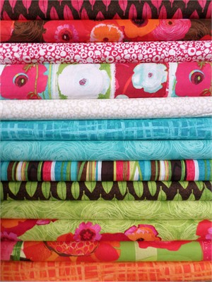 P&B Textiles, Always Blooming in FAT QUARTERS 13 Total