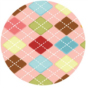 P&B Textiles, Daydreams, Argyle Multi
