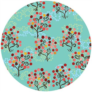 P&B Textiles, Daydreams, Trees Aqua