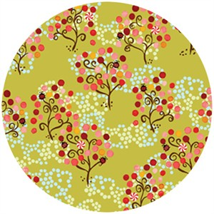 P&B Textiles, Daydreams, Trees Lime