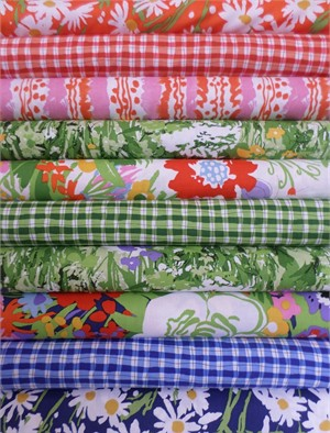 P&B Textiles, Garden Party in FAT QUARTERS 10 Total