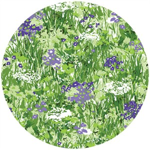 P&B Textiles, Garden Party, Wildflowers Violet