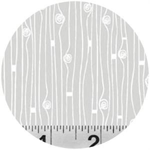 P&B Textiles, Modern Shadows, Loopy Lines Ash