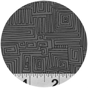 P&B Textiles, Modern Shadows, Maze Grey