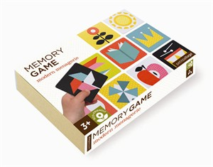 Petit Collage Memory Game Modern Menagerie