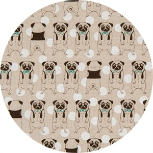 Japanese Import, CANVAS, Peculiar Pugs Natural