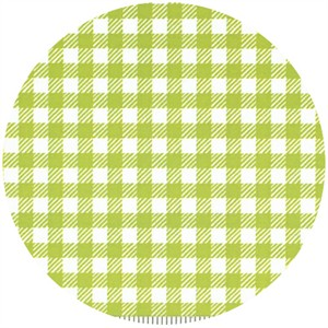 Penguin & Fish, Picnic Pals, Organic, Gingham Green