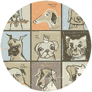 Peter Horjus, Doglandia, Ruff Bunch Brown