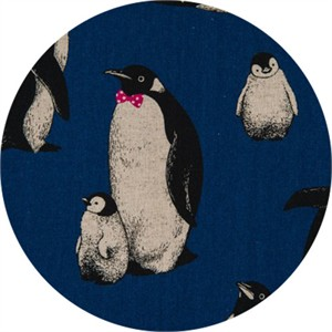 Japanese Import, CANVAS, Pensive Penguins Midnite