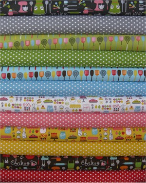 Pink Light, Everything Nice in FAT QUARTERS, 12 Total