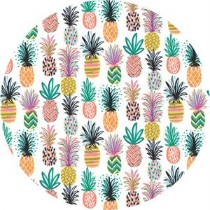 Josephine Kimberling for Blend, Tropical Paradise, Pineapple Party White