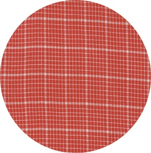 3 Sisters for Moda, Snowberry Wovens, Plaid Berry