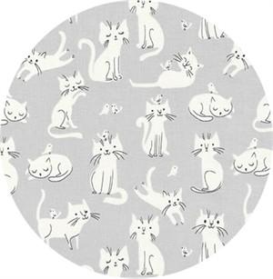Robert Kaufman, Whiskers & Tails, Playful Kitty Grey