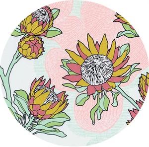 Joel Dewberry for Free Spirit, Cali Mod, Protea Cactus