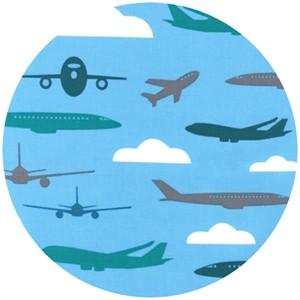 Print & Pattern, Boys Toys, Airborne Sky