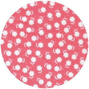 Print & Pattern, Ella FLANNEL, Falling Flowers Strawberry