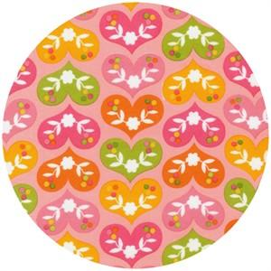 Print & Pattern, Ella FLANNEL, Heart A Flutter Vintage
