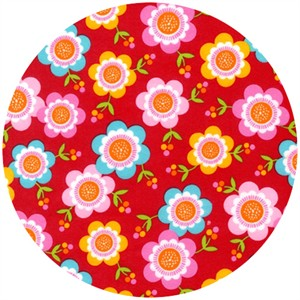 Print & Pattern, Ella FLANNEL, Picked Daisies Bright