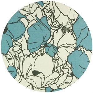 Premier Prints, HOME DEC,  Cottage Silhouette/Blue
