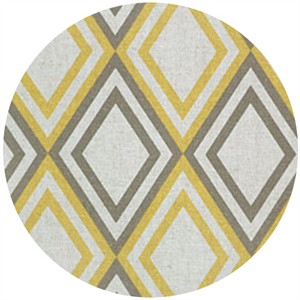 Premier Prints, HOME DEC, Annie Corn Yellow/Kelp/Linen