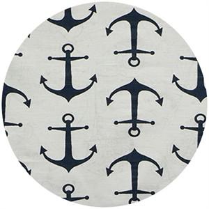 Premier Prints, HOME DEC, Anchors Navy (Slub)