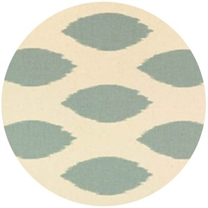 Premier Prints, HOME DEC. Chipper Village Blue/ Natural