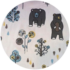 Premier Prints, HOME DEC, Honey Bear Cambridge/Natural