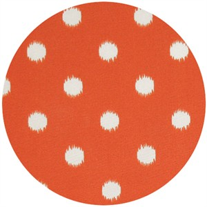 Premier Prints, HOME DEC, Ikat Dot Orange