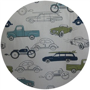 Premier Prints, HOME DEC, Retro Rides Felix/ Natural