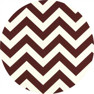 Premier Prints, HOME DEC, Zig Zag Maroon/White