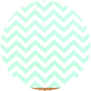 Premier Prints, HOME DEC, Zig Zag Mint