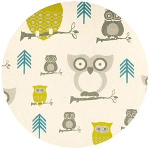 Premier Prints, Hooty Summerland/Natural