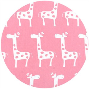Premier Prints, HOME DEC,  Stretch Baby Pink/White
