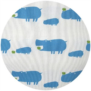 Puti de Pome, So Happy, Hippos White/Blue