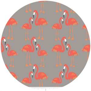 The Quilted Fish, Lula Magnolia, Flamingo Gray