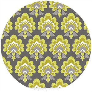 The Quilted Fish, Lula Magnolia, Floral Green