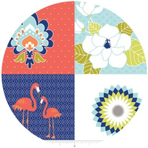 The Quilted Fish, Lula Magnolia, Lula Panel Blue