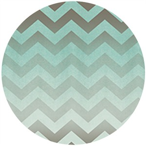 Quilting Treasures, Enjoy the Ride, Chevron Aqua