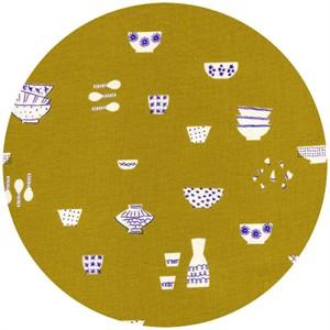 Rashida Coleman-Hale for Cotton and Steel, Zephyr, Fragile Citron