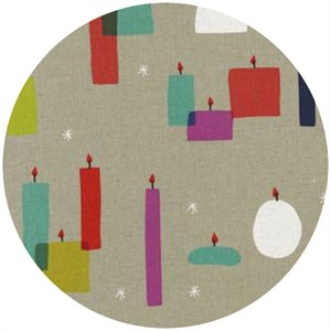 Rashida Coleman Hale for Cotton and Steel, Moonlit, CANVAS, Light a Candle Multi