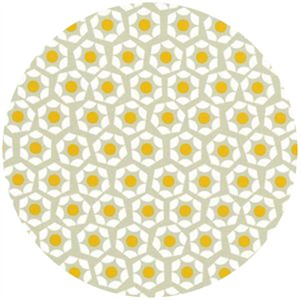 Rashida Coleman Hale for Cotton and Steel, Moonlit, Hexies Eggs