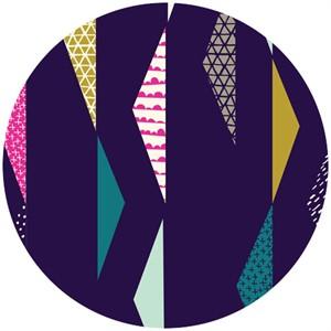 Rashida Coleman-Hale, Koi, Organic, Pennants Waving Plum