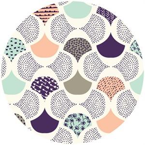 Rashida Coleman-Hale, Koi, Organic, Scalloped Edge Ivory
