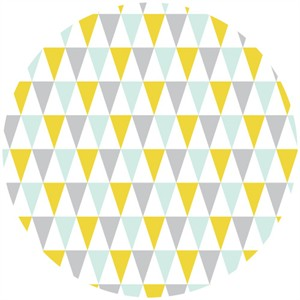 Rae Hoekstra, Fanfare FLANNEL, Organic, Bunting Gold