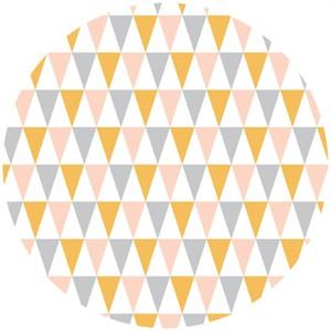 Rae Hoekstra, Fanfare FLANNEL, Organic, Bunting Pink
