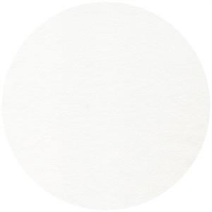 Rae Hoekstra, Fanfare Organic FLANNEL, Solid White