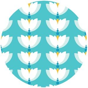 Rae Hoekstra, Lotus Pond, Organic, Lotus Drop Turquoise